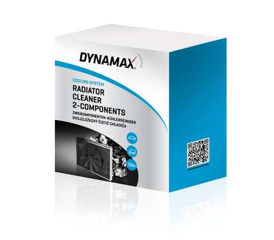 DYNAMAX RADIATOR CLEANER 2-COMPONENTS